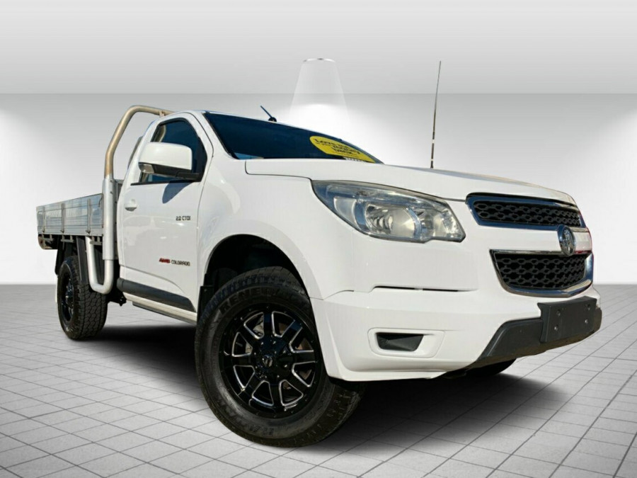 2012 MY13 Holden Colorado RG MY13 LX Cab chassis