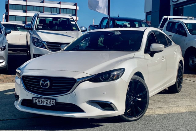 2017 Mazda 6 GJ1022 Touring Sedan Sedan Image 2