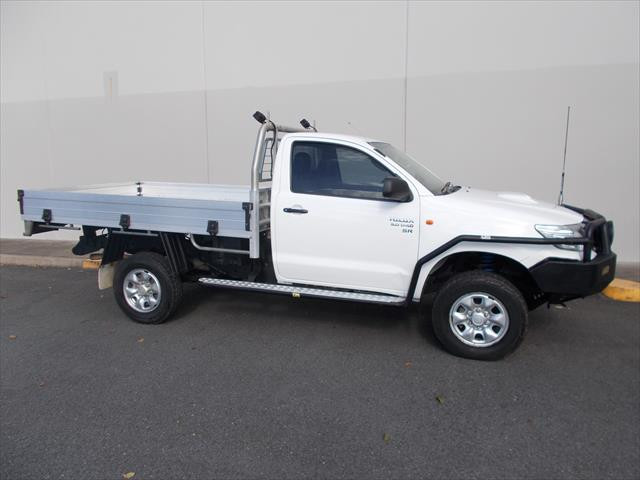 2013 MY12 Toyota HiLux KUN26R  SR Cab chassis - single cab