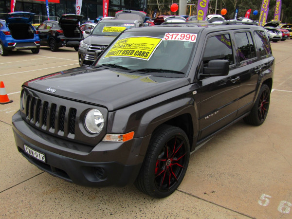 2014 MY15 Jeep Patriot MK Sport 4x2 Wagon