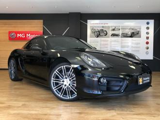 Porsche Cayman Black Edition 981 MY16