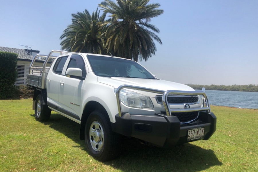 2015 Holden Colorado RG MY15 LS Cab chassis