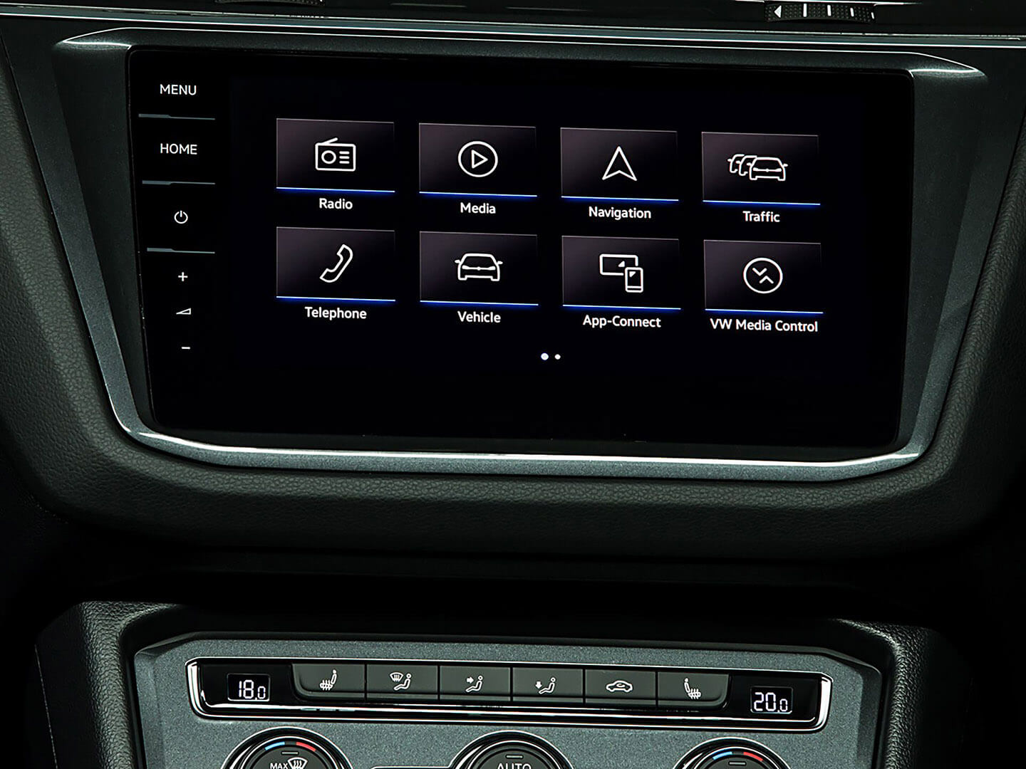 Stay connected on or off the map Infotainment Image