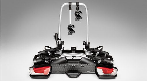 Bicycle holder for towbar, 2 bikes