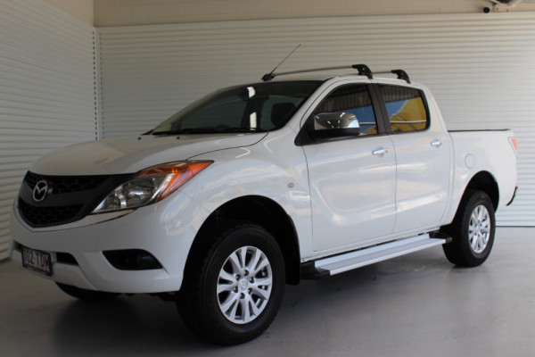 2012 Mazda BT-50 UP0YF1 GT Crew cab Image 4