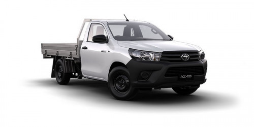 2017 Toyota HiLux GUN WorkMate 4x2 Single-Cab Cab-Chassis Cab chassis