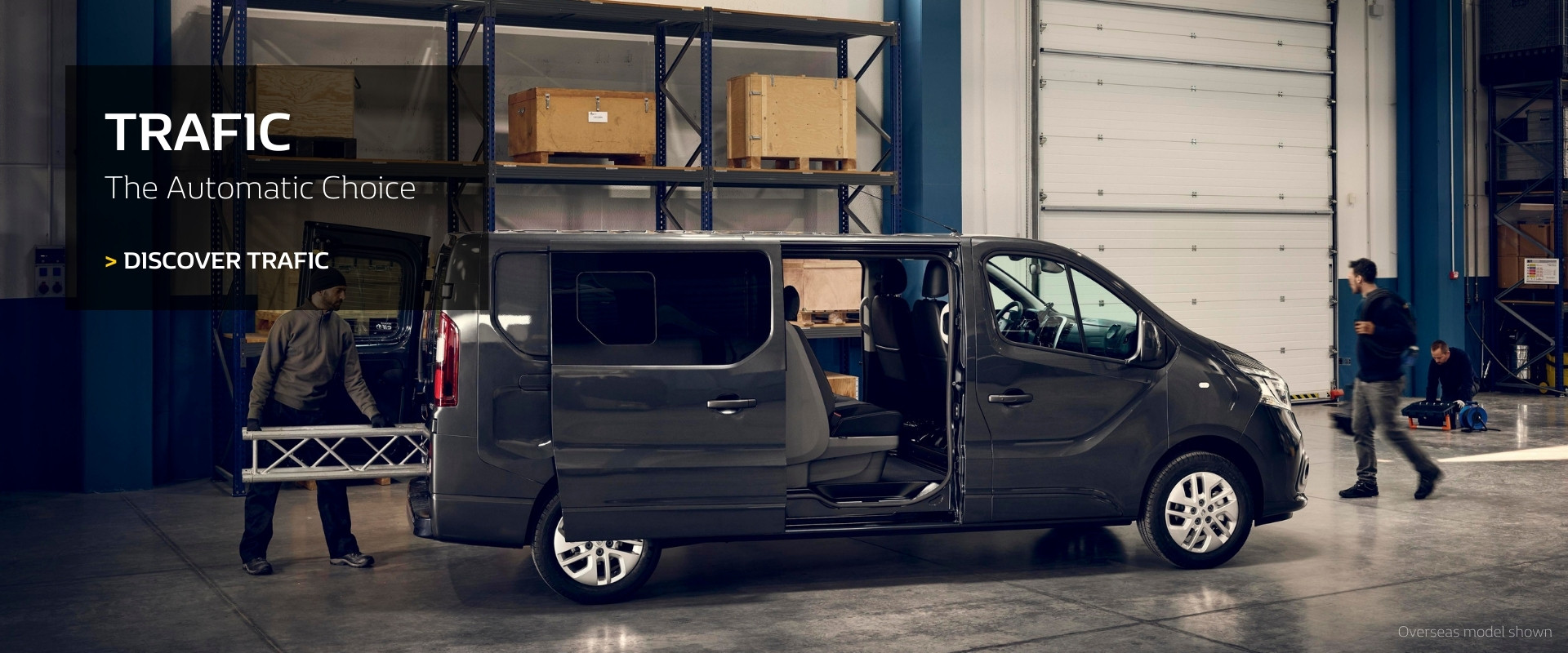 Renault TRAFIC - The Automatic Choice
