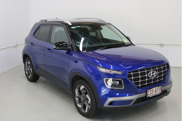 2020 MY21 Hyundai Venue Base Elite Wagon Image 4