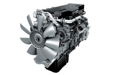 Coronado 114 Detroit Diesel DD15 engine