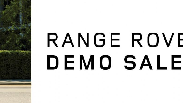 Range Rover Sport Demonstrator Range