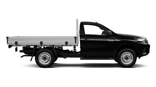 SR 4x4 Single-Cab Cab-Chassis