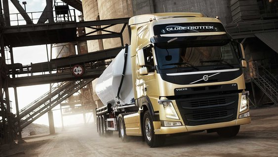 The new Volvo FM Just drive