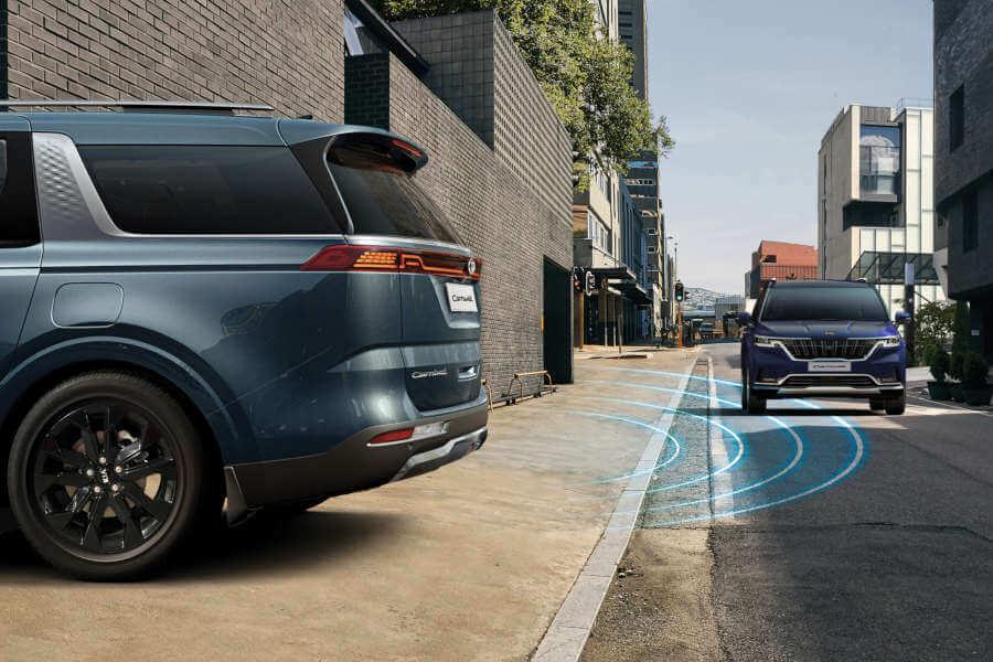 Rear Cross-traffic Collision Avoidance Assist