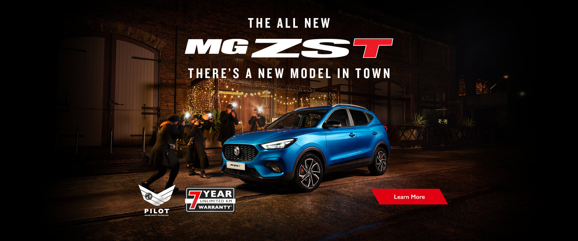 The all new MG ZST - Available now.