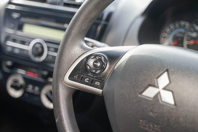 2014 Mitsubishi Mirage LA MY14 LS Hatchback Image 11