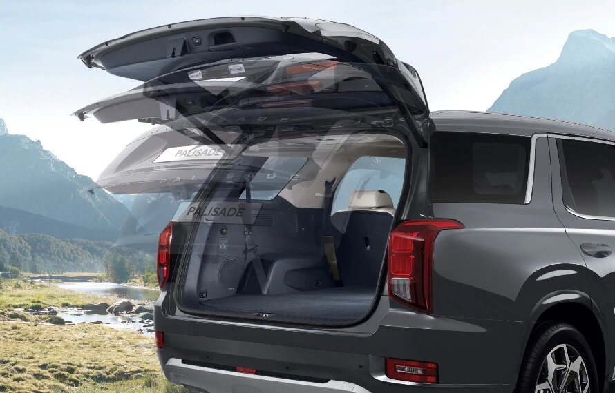 Palisade Smart tailgate