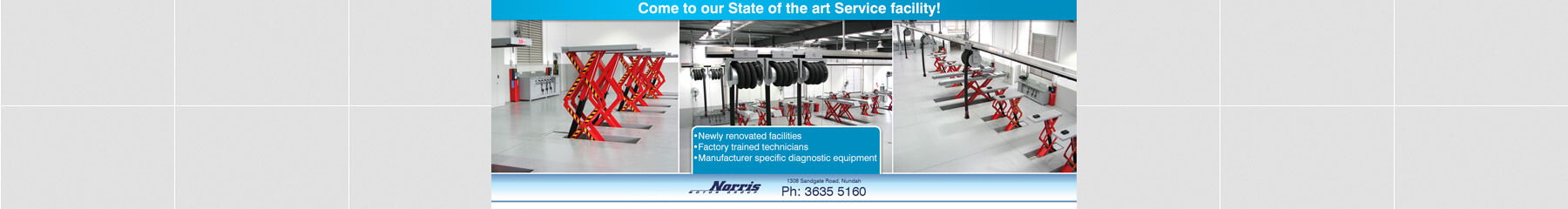 Come to our state of the art service facility at Nundah Suzuki Brisbane.