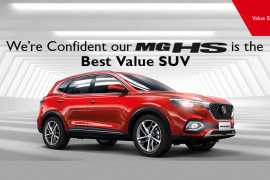 MG HS - THE BEST VALUE SUV TEST DRIVE OFFER