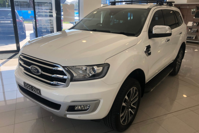 2018 MY19 Ford Everest UA II 2019.00MY Titanium Suv