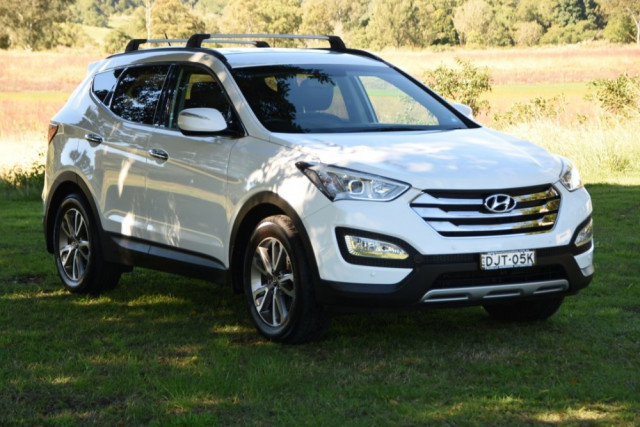 2012 MY13 Hyundai Santa Fe DM Elite Suv