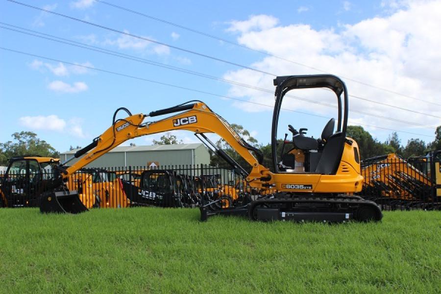 2021 JCB 8035 ZTS Mini Excavator (No Series)