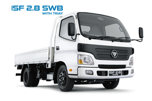 New Foton ISF 2.8 SWB with Tray
