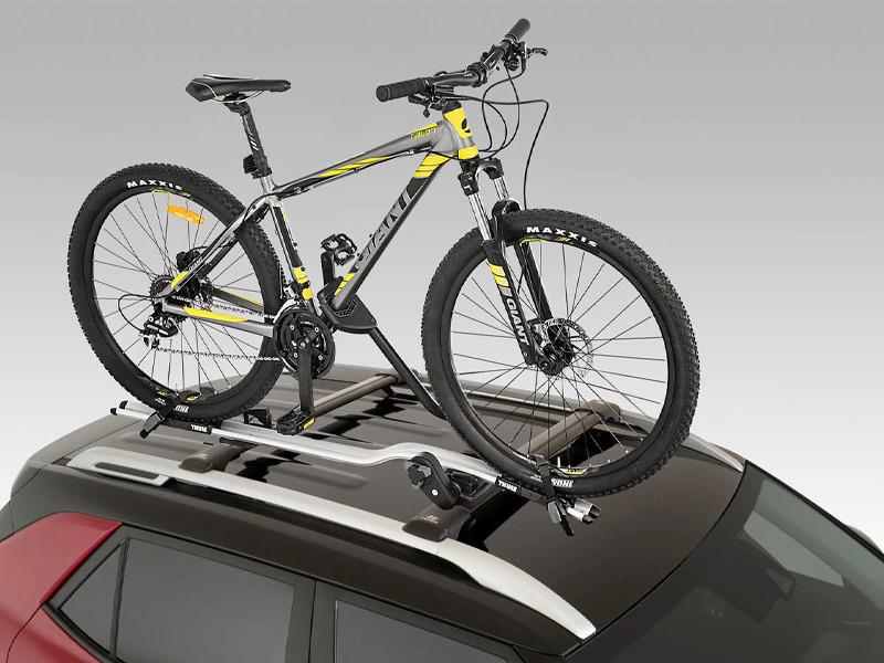 Bike carrier-wheel on