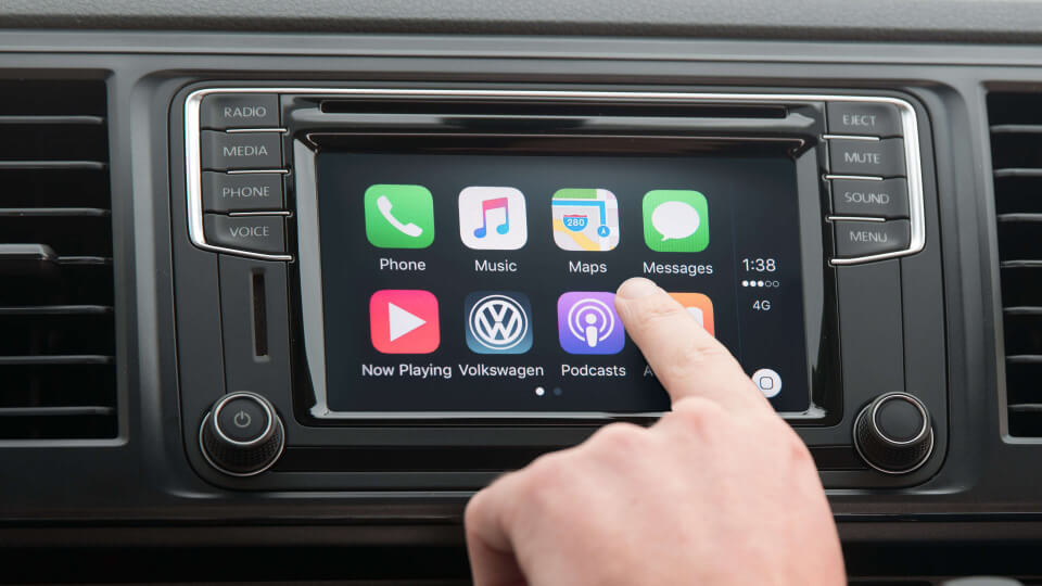 The apps from your phone in your car Image