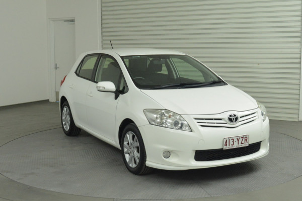 2012 MY11 Toyota Corolla ZRE152R MY11 Ascent Hatchback Image 4