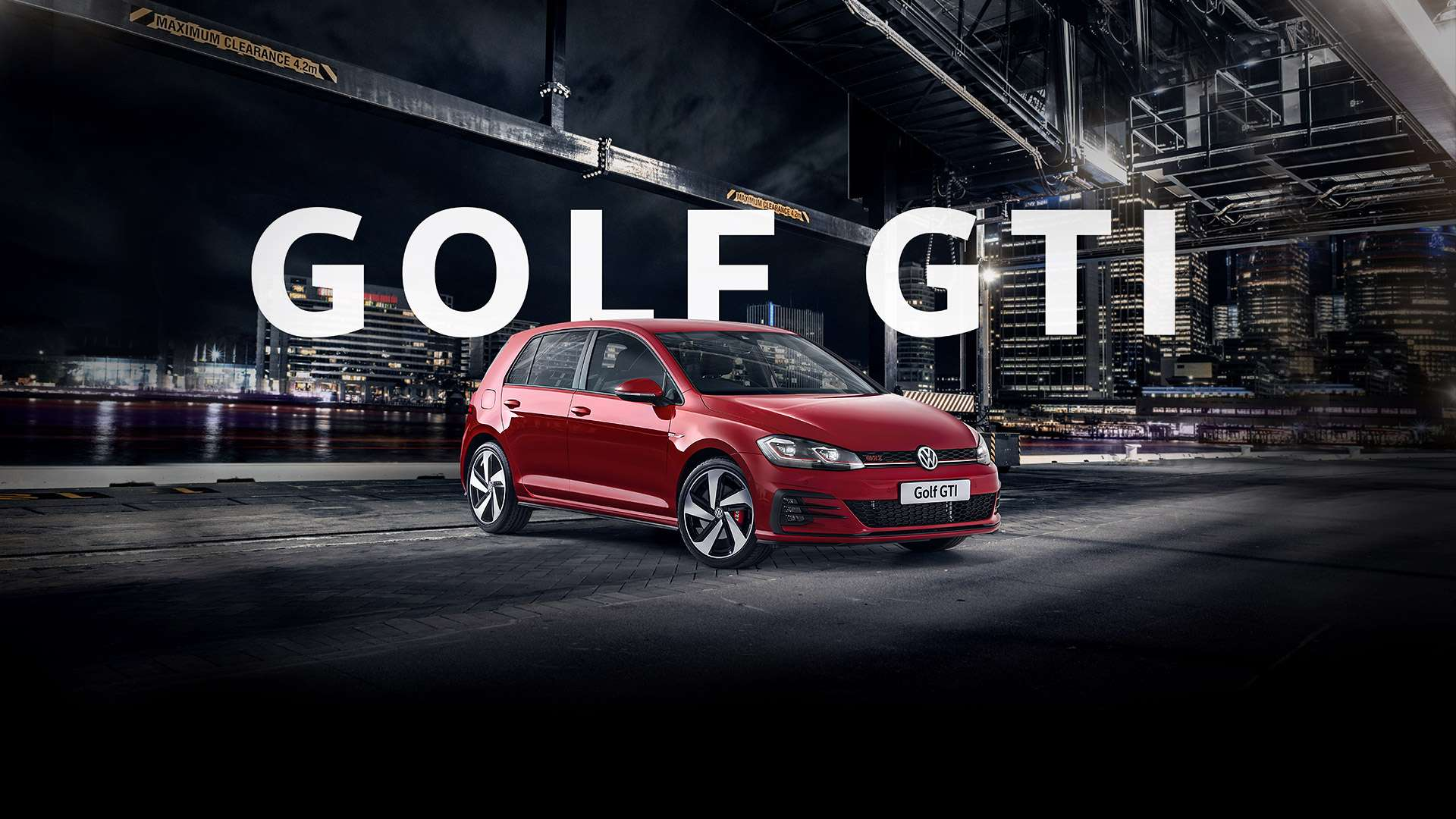 Golf GTi The original hot hatch.