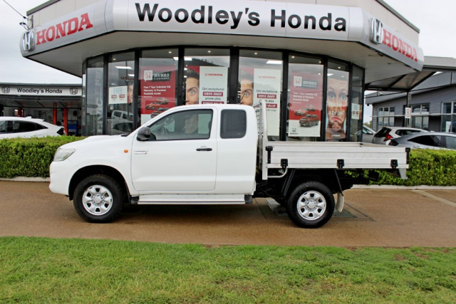 2011 MY10 Toyota HiLux KUN26R  SR Cab chassis - extended cab Image 5