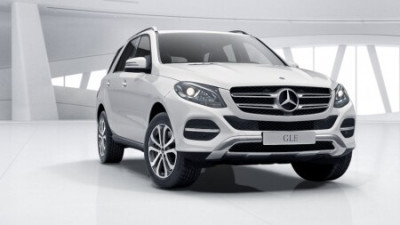 New Mercedes-Benz GLE SUV