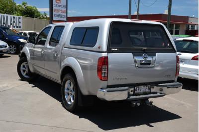 2010 Nissan Navara D40 ST-X Utility Image 3