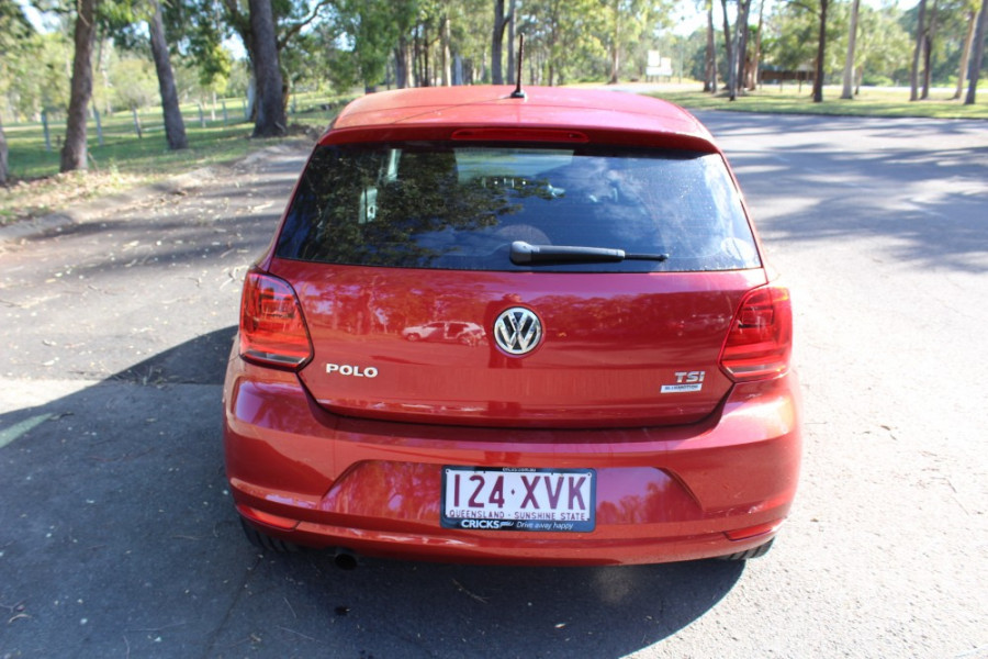 2016 MY15 Volkswagen Polo 6R 66TSI Hatchback
