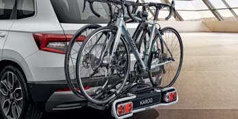 Bicycle Carrier for the Tow Bar