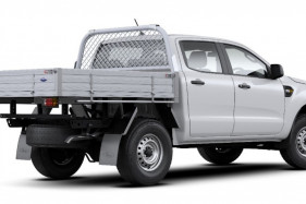 2019 MY19.75 Ford Ranger PX MkIII 4x4 XL Double Cab Chassis Cab chassis Image 3