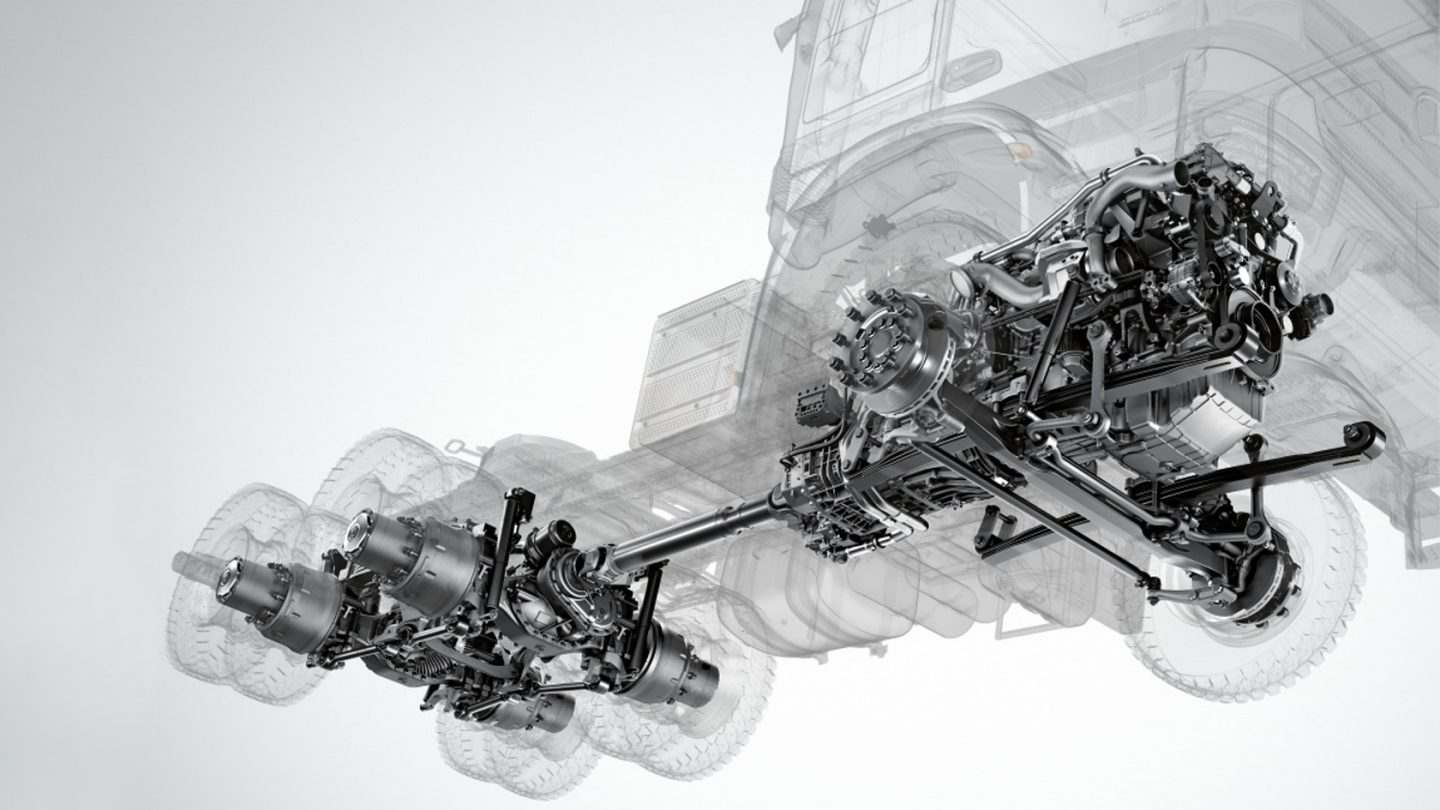 Actros Prime Movers Reliable Engines.