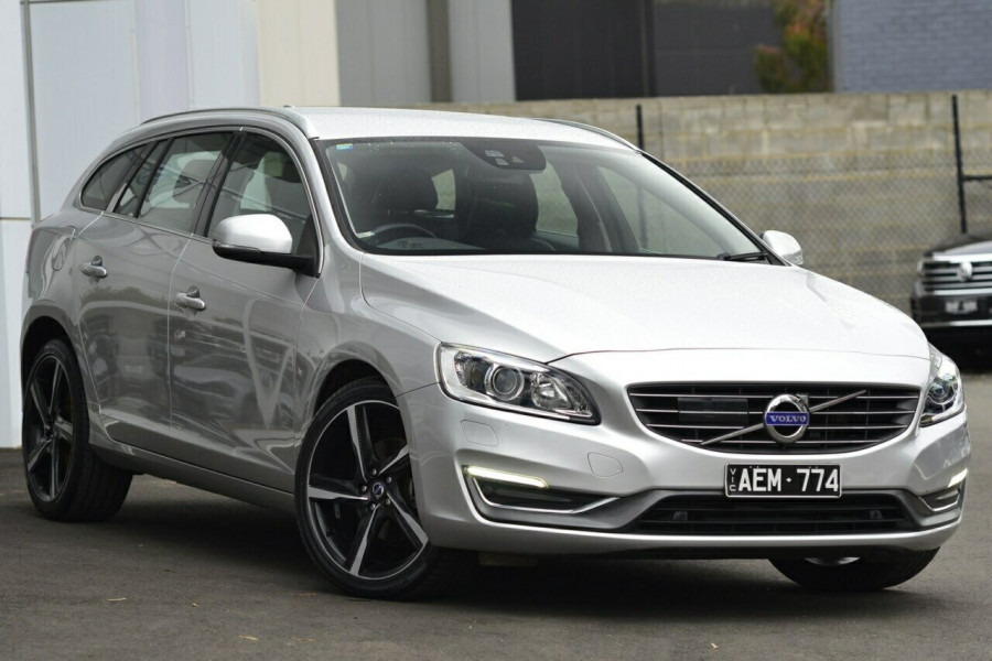 2013 MY14 Volvo V60 F Series MY14 D4 Geartronic Luxury Wagon Image 1