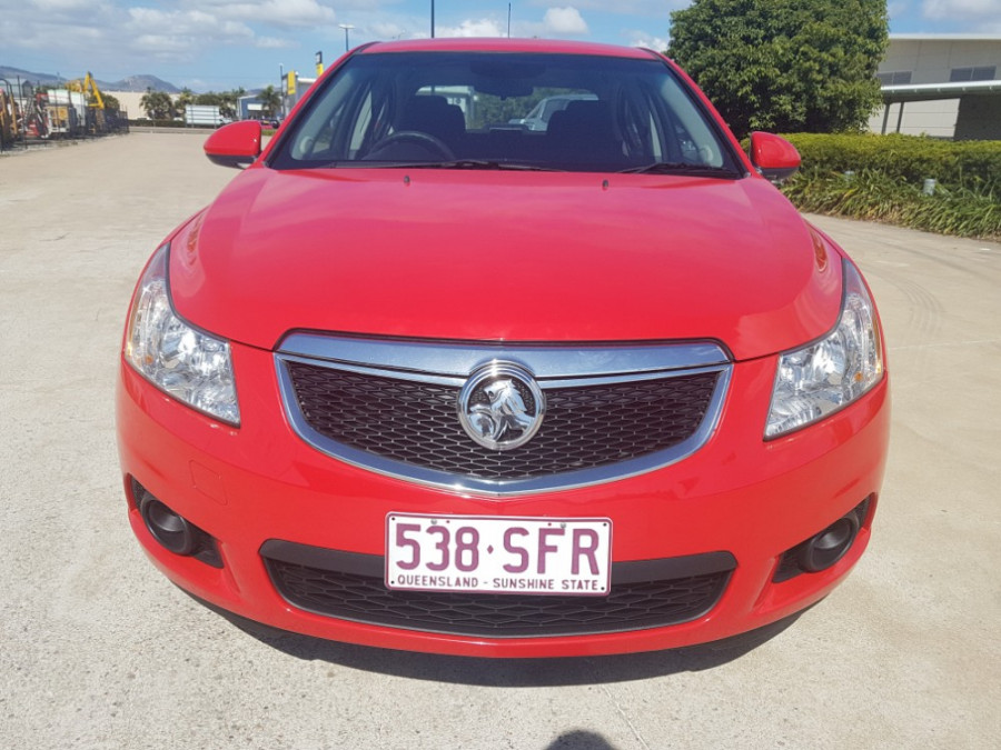 2012 Holden Cruze JH SERIES II  CD Sedan