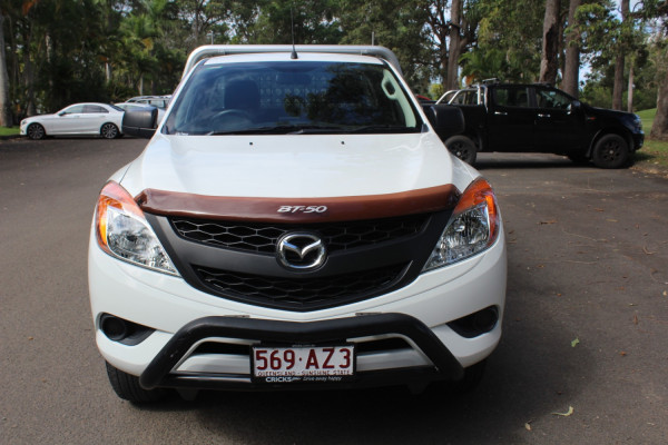 2012 Mazda BT-50 Cab chassis