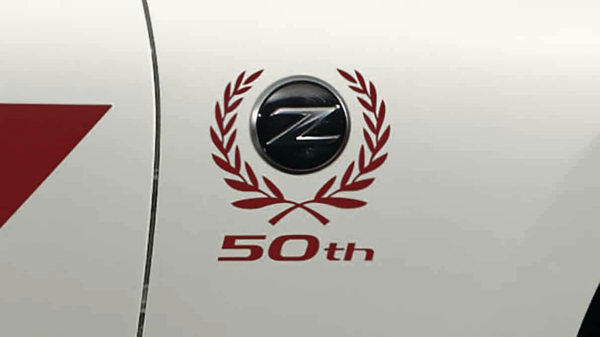 370Z 50th Anniversary Edition badge Image