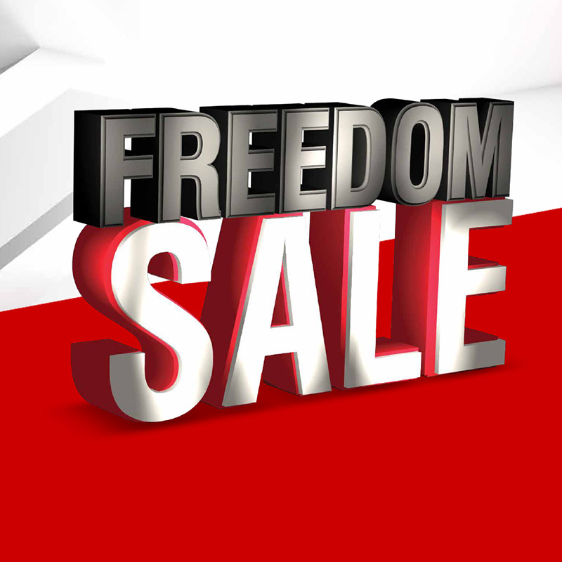 Freedom Sale