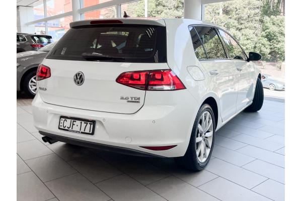 2013 Volkswagen Golf VII 110TDI Highline Hatch Image 4