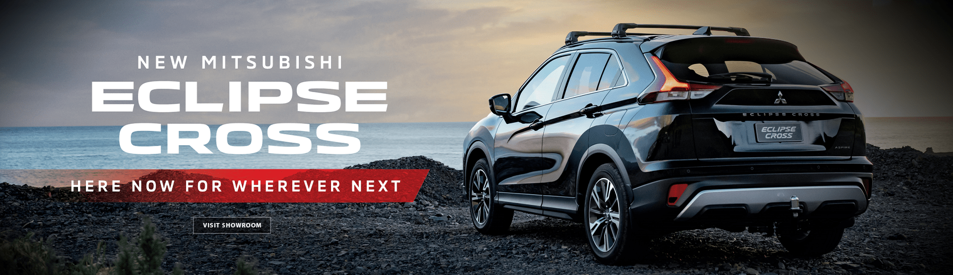 New Mitsubishi Eclipse Cross - Here now for wherever next