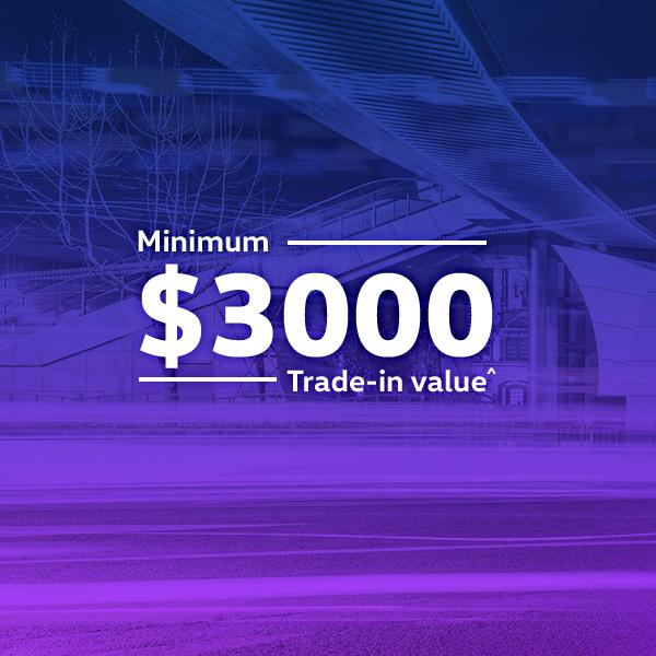 $3,000 Minimum Trade-In