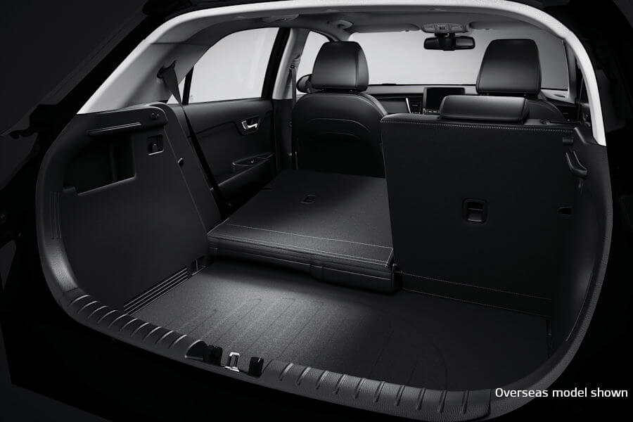 60:40 Split-fold Rear Seats