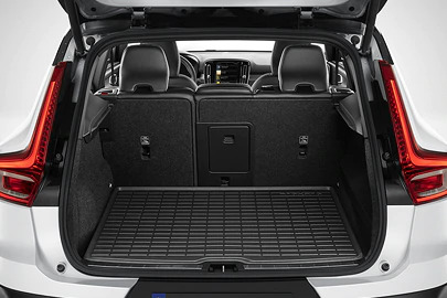 Load compartment mat, moulded plastic, Charcoal Image