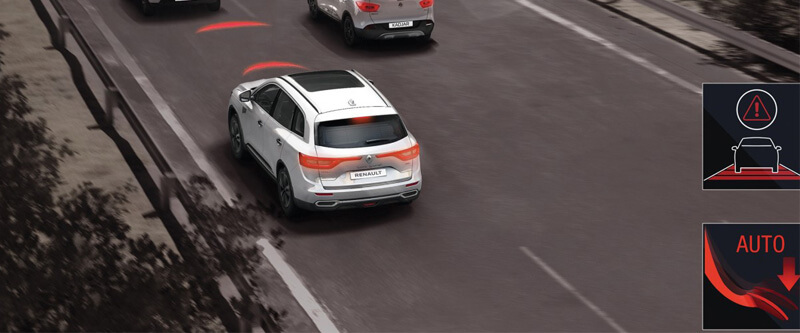 Koleos Advanced Emergency Braking System