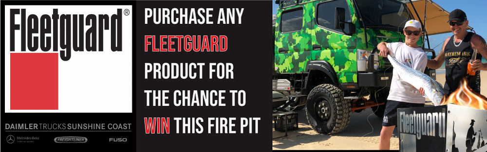WIN A FIRE PIT FLEETGUARD COMPETITION