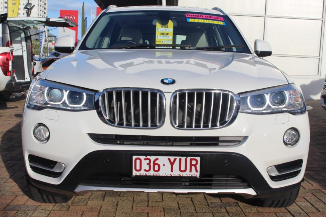 2015 MY14 BMW X3 F25 LCI MY0414 XDRIVE20D Suv